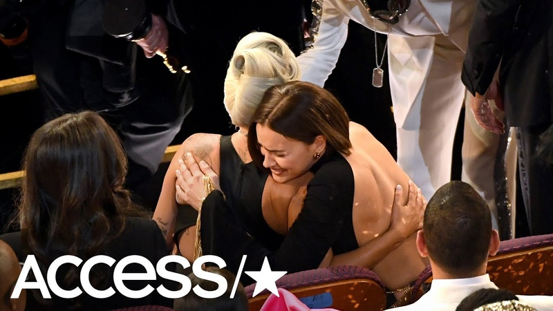 Irina Shayk Caught Oscars Viewers' Eyes With This Lady Gaga Moment | Access