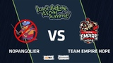 NoPangolier vs Team Empire Hope, Game 1, Group Stage, I Can't Believe It's Not Summit