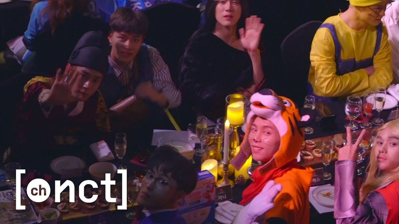 [N'-67] NCT 2018 할로윈 준비하기   Behind the Halloween 🎃👻🍭