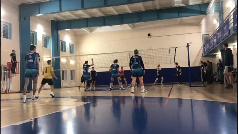 Чемпионат ВУЗов по волейболу. ИТМО-МЧС. Мужчины. 02.11.2018. (3)