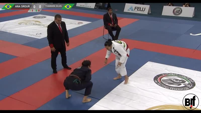 Ana Carolina Vieira vs Thamara Silva RioGS2017