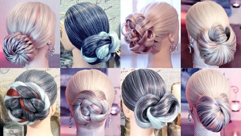 Пучки без валиков - Лучшее | Hairstyles by REM | Copyright ©