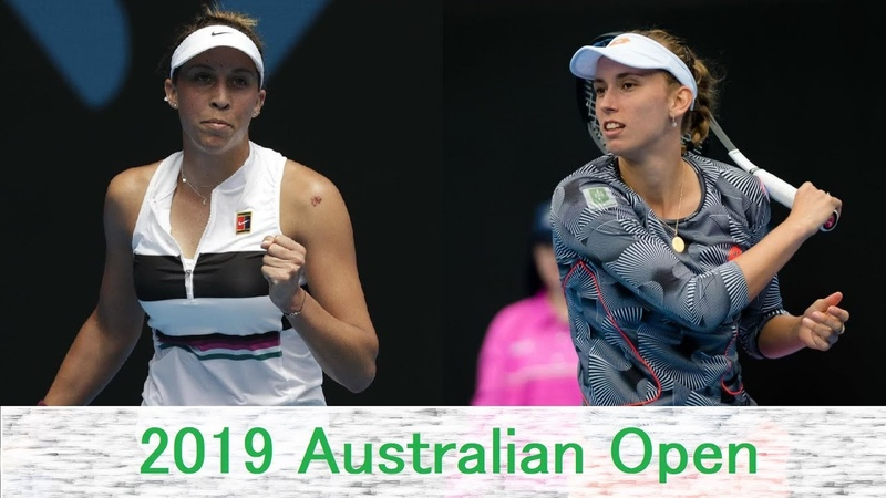 Elise Mertens vs Madison Keys