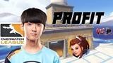 Profit plays Brigitte - Spitfire vs. Fusion POV Overwatch League