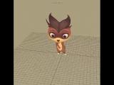 Лео и Тиг - Создание персонажей в 3D