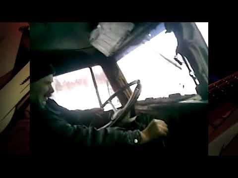 Злой водитель краза