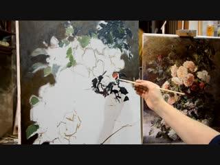 Пишем Этюд Ч.2-я Школа Живописи Михаила Сатарова
