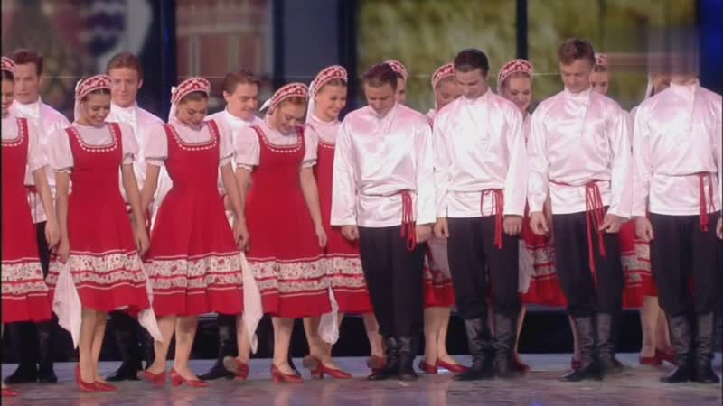 Русский танец Светит месяц светит ясный