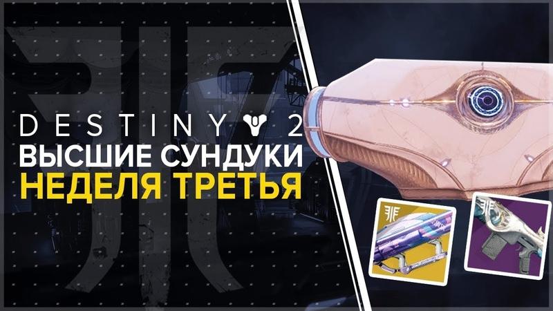 Destiny 2 Сундуки Города Грез Третья неделя цикла