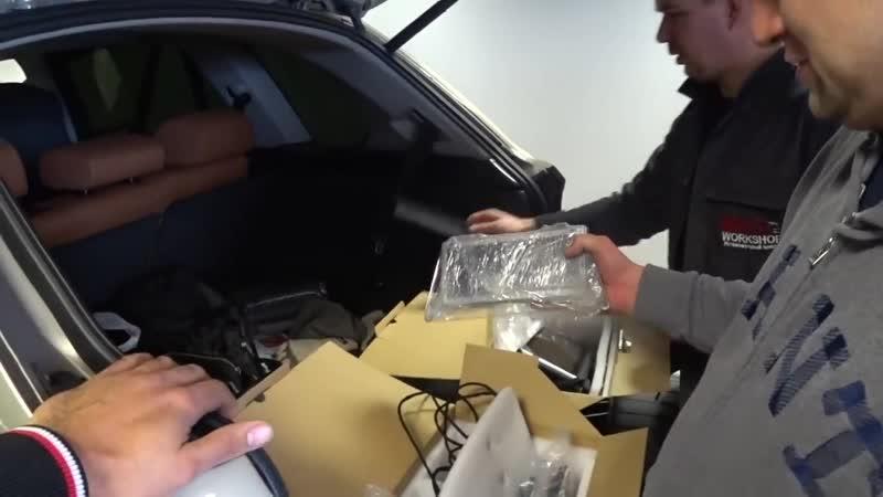 [BWT Life] Поставили дополнительные плюшки на Lexus LX570.