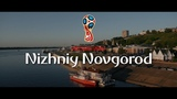 World Cup 2018. Russia. Nizhniy Novgorod. Croatian and Argtentinian fans on russian streets. PART 1