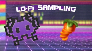 How to Sample - Lo-Fi Trap Beats Tutorial [FL Studio 20]