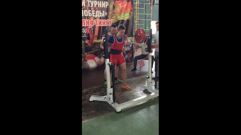 Г Моздок Кубок Победы Присед 85 кг