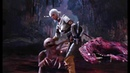 Witcher 3 x Monster Hunter World - Ciri Zireael Dual Blades Gameplay vs. Odogaron