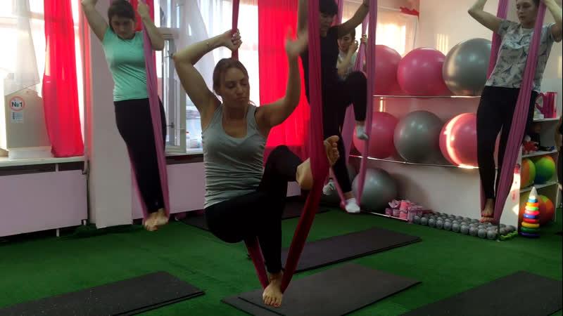 Fly йога 🧘🏼♀️