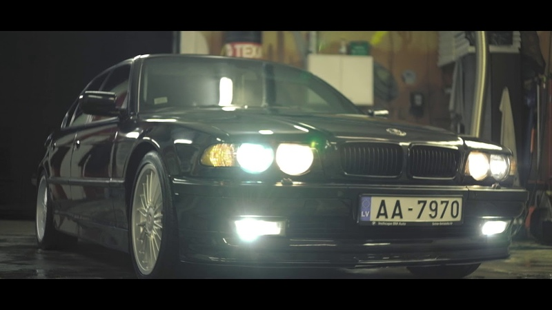 E38 BLACK ALPINA || GANGSTERS PARADISE