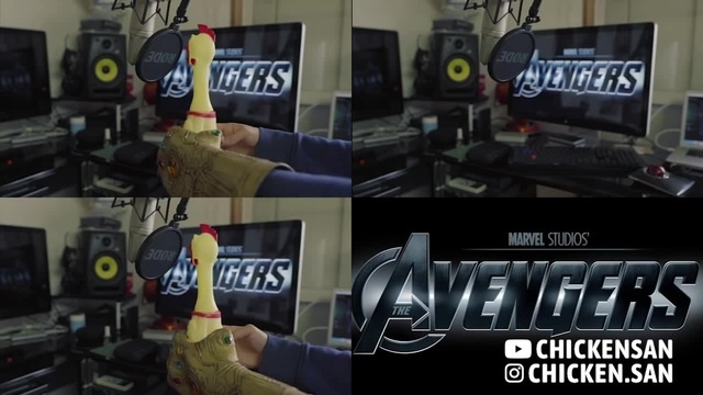 Chickenさん singing The Avengers Theme | cover