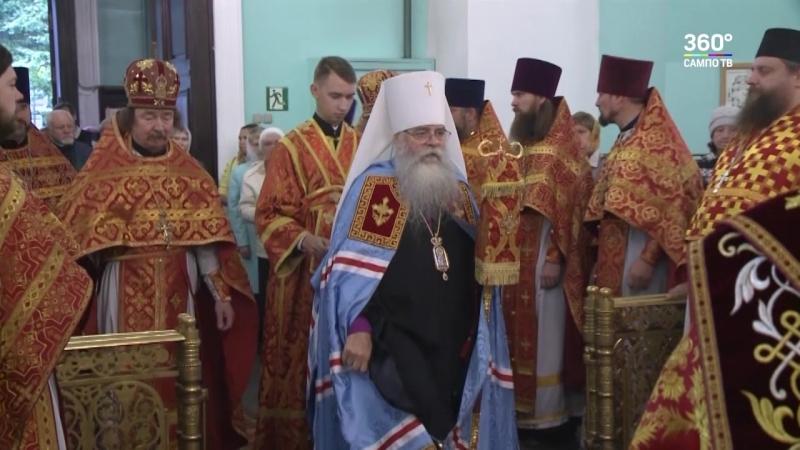 Александро-Невский кафедральный собор отмечает престольный праздник