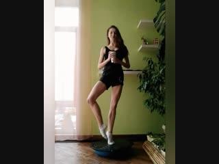 Балерина и кофе :)
