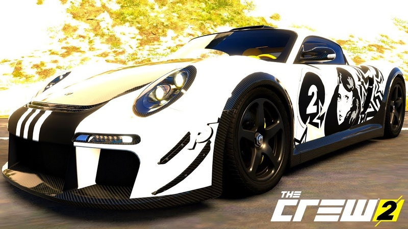 THE CREW 2 GOLD EDiTiON (TUNiNG) RUF CTR-3 PART 587 ...