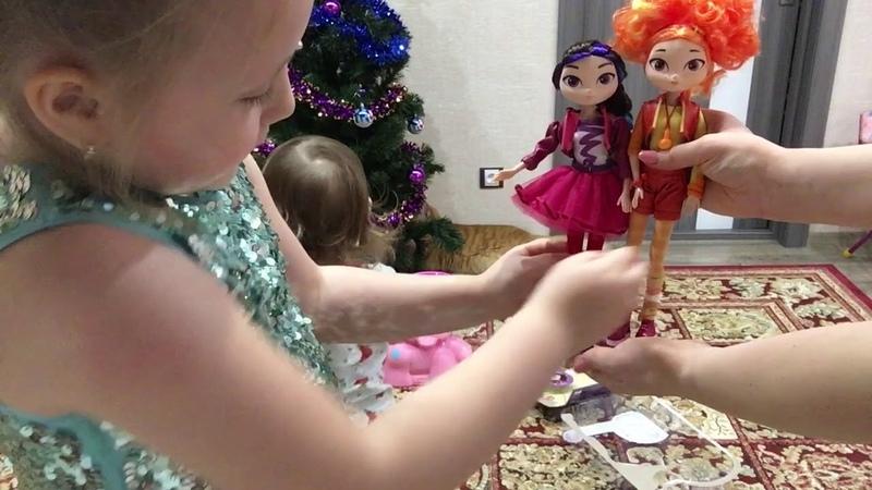 Куклы Сказочный патруль Пинки Пай с мячиками Поздравления и подарки от Деда Мороза