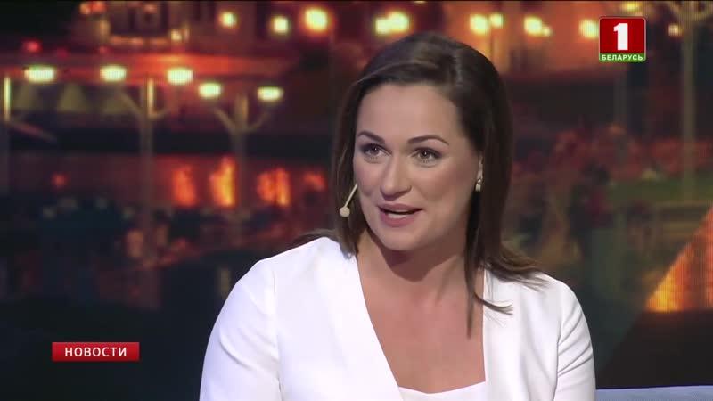 Гость вечернего шоу Макаенка, 9 пресс-секретарь Президента Беларуси Наталья Эйсмонт