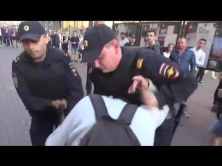 Шествие бессрочного протеста в Москве 22.09.2018 #бессрочка #бессрочныйпротест