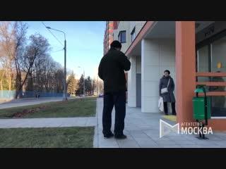 Новые жилые дома на ул. Летчика Бабушкина для переселения по программе реновации