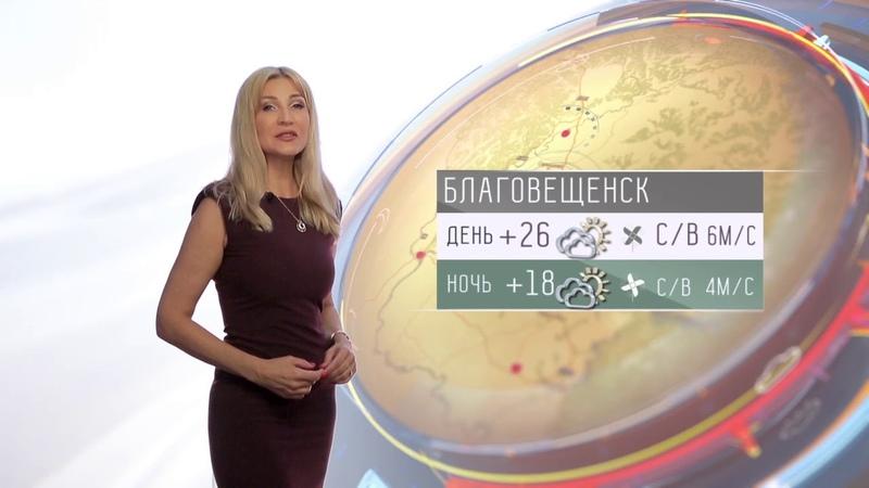 Прогноз погоды в Амурской области на 26 июня 2019 года
