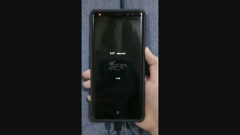 [OTHER] Вот так выглядит экран блокировки с темой Дэхёна