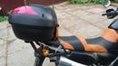 Кастомный модульный багажник для Kawasaki KLE 500