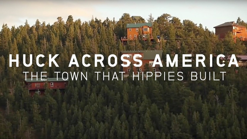 Huck Across America The Town That Hippies Built