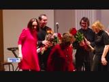 Юрий Башмет и Константин Хабенский на фестивале Ростроповича в Оренбурге