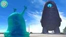 Добро пожаловать! А мы здесь, чтобы уничтожить тебя! Монстры против пришельцев (2009) год.