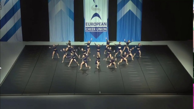 Cheerleading .Senior Jazz Team Slovenia Ladie.