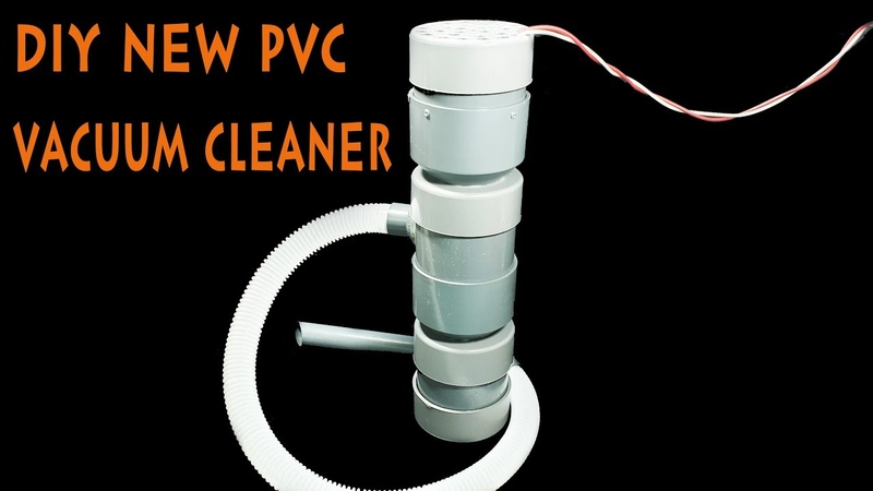 Build An Vacuum Cleaner Using 775 Motor and PVC Pipe - Centrifugal Force