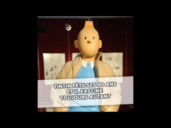 90 ans de Tintin: «Hergé disait que Tintin est un masque que tout le monde peut porter»