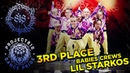 LIL STARKOS ✪ 3RD PLACE ✪ BABIES CREWS ✪ RDF18 ✪ Project818 Russian Dance Festival ✪