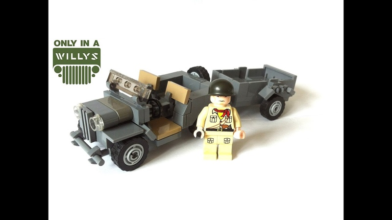 Lego Willys Jeep Review [MOC]