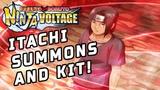 ITACHI I SUMMON YOU! + KIT Showcase Naruto X Boruto Ninja Voltage