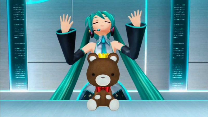 Happy Birthday Miku! (Hatsune Miku Project Diva F, Diva Room)