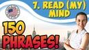7 Read (one's) mind - Читать мысли 🇺🇸 150 английских идиом