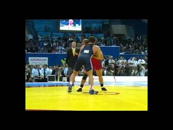 2007 World Championship Wrestling GR 84kg:Vering Bradley (USA)-Mishin Alexej (RUS)
