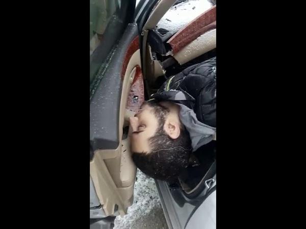 В Кемерово машина с подложными кыргызскими номерами попала в ДТП