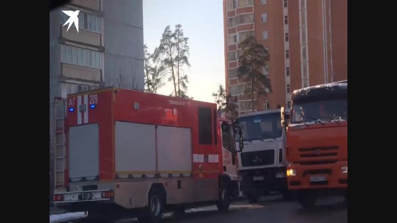 В Москве столкнулись маршрутное такси и Камаз пострадали 8 человек
