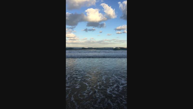 Утреннее море Тель Авива