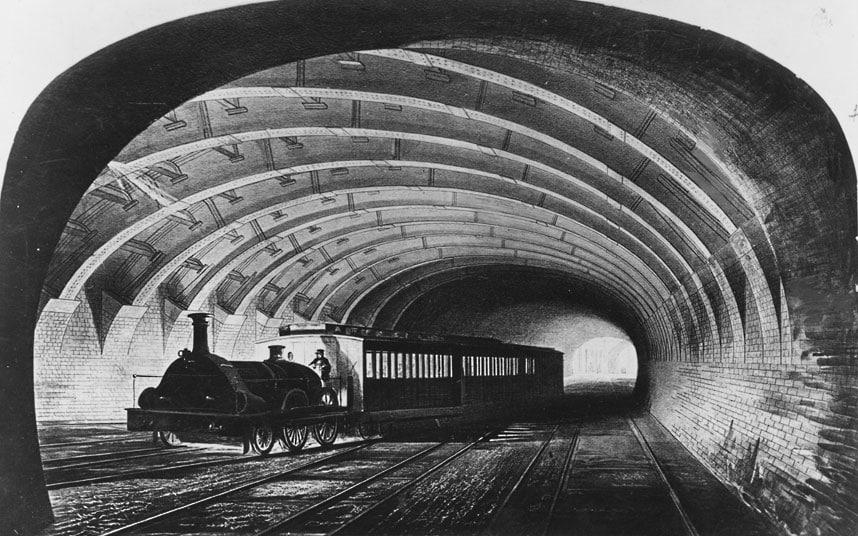 метро англии история