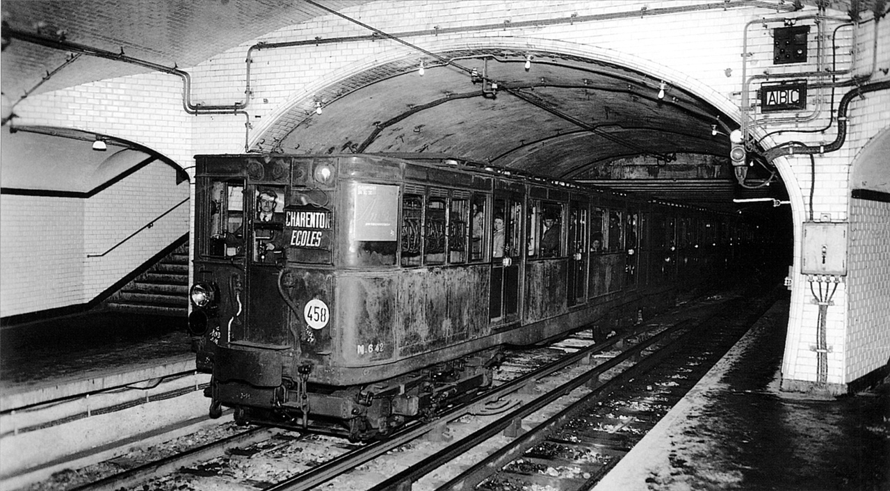 метро парижа история