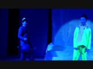 Майинский театр юного зрителя, новый состав коллектив 6 «а» класса МСОШ им. В. П. Ларионова -Антуан де Сент-Экзюпери «Маленький