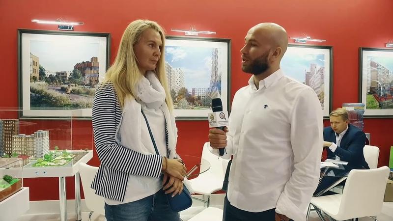 Интервью с застройщиком Тройка РЭД. 37-я выставка Недвижимость от лидеров в ЦДХ